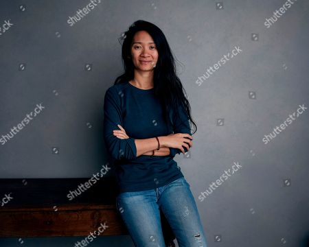 """Stock Picture of Writer/director Chloe Zhao posing for a portrait to promote her film """"The Rider"""" during the Sundance Film Festival in Park City, Utah. Zhao's film, set on the Pine Ridge Reservation in South Dakota, is cast with nonprofessional actors playing characters similar to themselves, and stars Brady Jandreau as an injured rodeo rider"""
