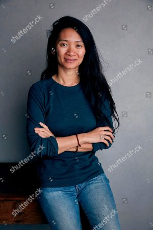 """Writer/director Chloe Zhao posing for a portrait to promote her film """"The Rider"""" during the Sundance Film Festival in Park City, Utah. Zhao's film, set on the Pine Ridge Reservation in South Dakota, is cast with nonprofessional actors playing characters similar to themselves, and stars Brady Jandreau as an injured rodeo rider"""