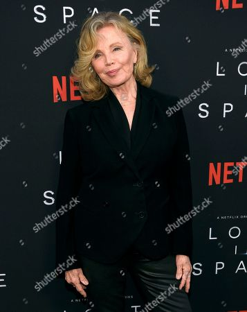 """Marta Kristen arrives at the Los Angeles premiere of """"Lost in Space"""" at the ArcLight Cinerama Dome on"""
