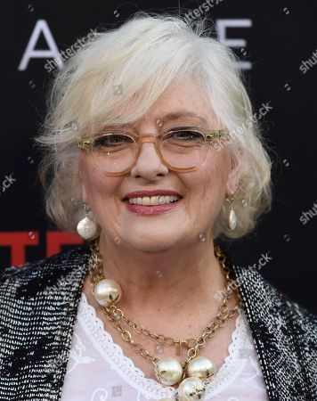 """Angela Cartwright arrives at the Los Angeles premiere of """"Lost in Space"""" at the ArcLight Cinerama Dome on"""