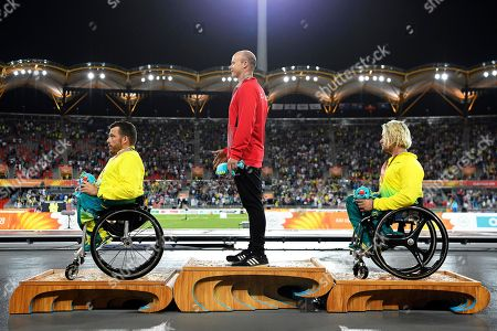 Alexander Dupont, Kurt Fearnley and Jake Lappin
