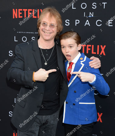 Maxwell Jenkins and Bill Mumy