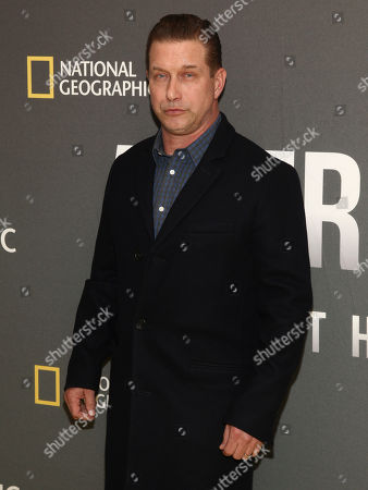 "Stephen Baldwin attends the world premiere screening of National Geographic's ""America Inside Out With Katie Couric"" at the Museum of Modern Art, in New York"