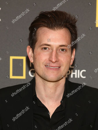 """Peter Cincotti attends the world premiere screening of National Geographic's """"America Inside Out With Katie Couric"""" at the Museum of Modern Art, in New York"""