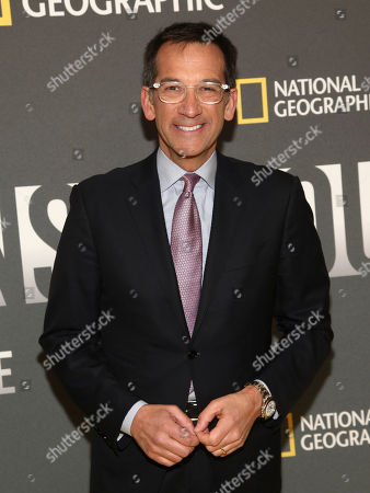 "Stock Photo of Dave Price attends the world premiere screening of National Geographic's ""America Inside Out With Katie Couric"" at the Museum of Modern Art, in New York"