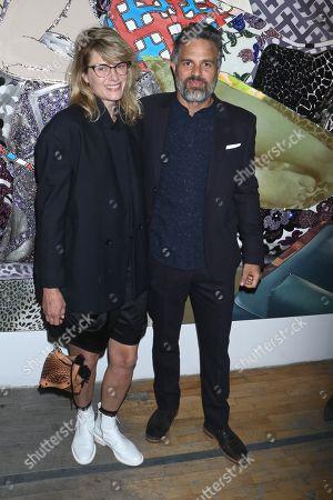 Mark Ruffalo and wife Sunrise Coigney
