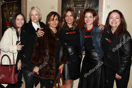 Caroleen Feeney, Nancy Jarecki, Lorraine Kirke, Mariska Hargitay, Debra Messing, Trish Adlesic