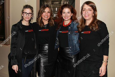 Isabelle Gilles Lattman, Mariska Hargitay, Debra Messing, Nancy Jarecki