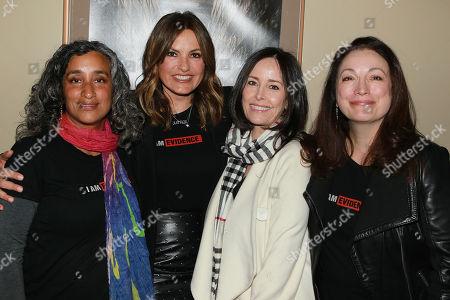 Geeta Gandbhir, Mariska Hargita, Caroleen Feeney, Trish Adlesic