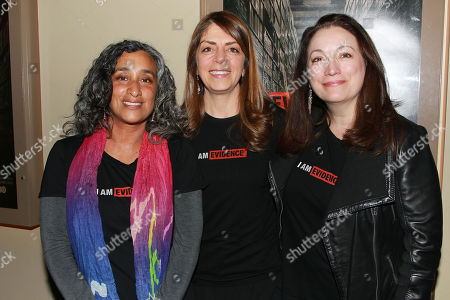 Geeta Gandbhir, Nancy Abraham and Trish Adlesic