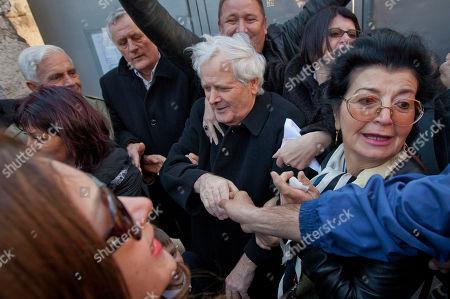 Editorial picture of Bosnia War Crimes, Pula, Croatia - 9 Mar 2012