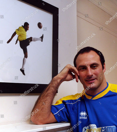 Editorial picture of Ramon Vega. Ex Footballer Ramon Vega At His Offices In Dover Street London.