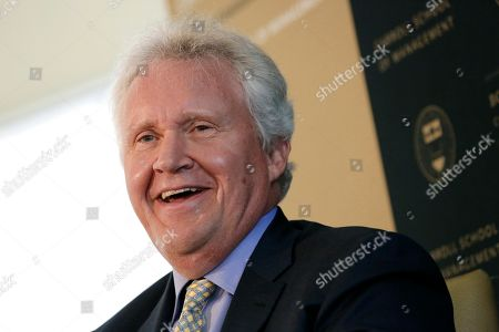 General Electric Chairman and CEO Jeffrey Immelt speaks at the Boston College Chief Executives Club in the Boston Harbor Hotel in Boston, . Immelt discussed his company's impending move from Fairfield, Conn., to Boston at a meeting of business executives