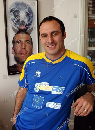 Stock Photo of Ramon Vega. Ex Footballer Ramon Vega At His Offices In Dover Street London.