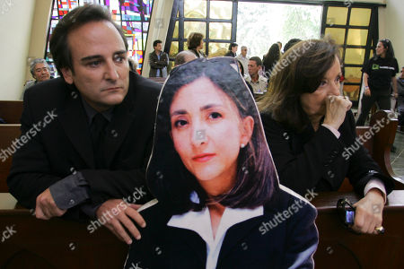 Yolanda Pulecio, Juan Carlos Lecompte. Juan Carlos Lecompte, left, husband of kidnapped politician Ingrid Betancourt, and his mother-in-law Yolanda Pulecio attend a mass in Betancourt's honor in Bogota, as a cutout image of Betancourt is seen at center. The mass was held to mark the sixth anniversary of her kidnapping by rebels from the Revolutionary Armed Forces of Colombia, or FARC. She was kidnapped on Feb. 23, 2002