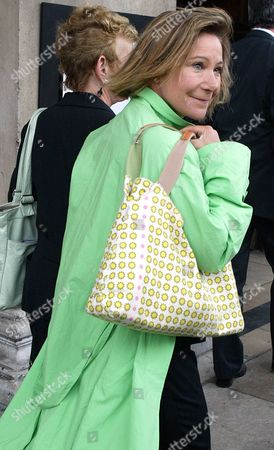 Stock Photo of Zoe Wanamaker Arrives For Sir John Mills's Memorial Service At St Martin-in-the-fields.