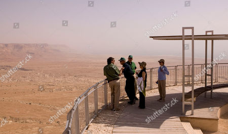 Editorial photo of Bush Mideast, Masada, Israel - 15 May 2008