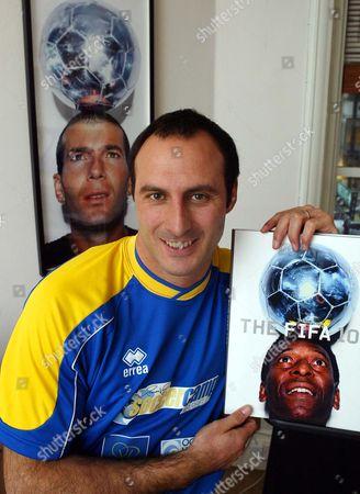 Editorial photo of Ramon Vega. Ex Footballer Ramon Vega At His Offices In Dover Street London.