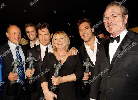 Editorial image of SAG Awards Backstage, Los Angeles, USA - 27 Jan 2008