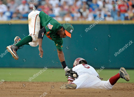 Editorial image of CWS Miami Stanford Baseball, Omaha, USA - 18 Jun 2008