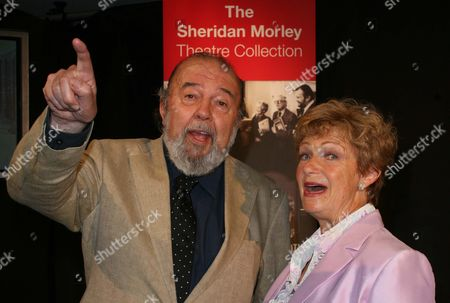 Sir Peter Hall and Ruth Leon