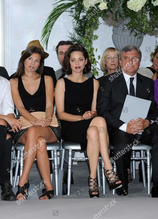 Dasha Zhukova, Marion Cotillard and Sydney Toledano