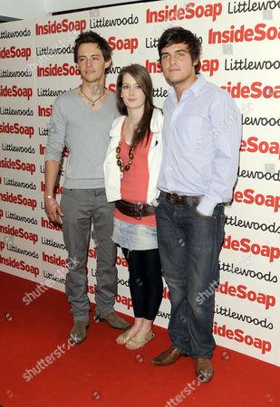 Elliot Langridge, Beth Kingston and Steven Beard