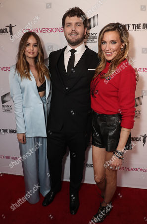 Debby Ryan, Austin Swift and Katie Cassidy