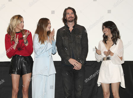 Katie Cassidy, Debby Ryan, Jerry Trainor and Ashley Argota