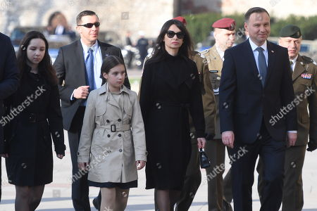 Editorial image of Memorial events on anniversary of presidential plane crash near Smolensk, Krakow, Poland - 10 Apr 2018