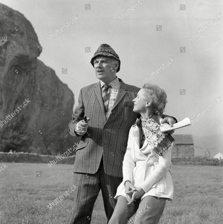 Editorial photo of 'Emmerdale Farm' TV Series UK  - 1977