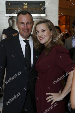 Edward Menicheschi and Krista Smith