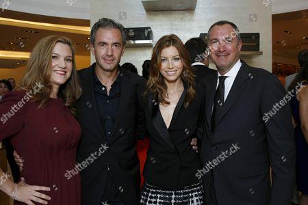 Krista Smith, Daniel Lalonde, Jessica Biel & Edward Menicheschi