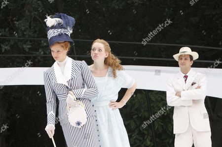 Editorial image of 'The Importance of Being Earnest' play at the Open Air Theatre, Regent's Park, London, Britain  - 06 Jul 2009