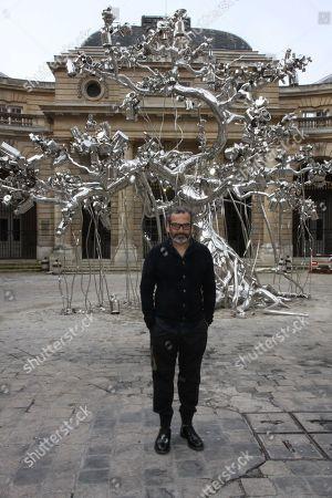 Editorial photo of Subodh Gupta exhibition, Paris, France - 10 Apr 2018