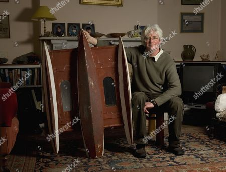 Editorial picture of Simon Crowhurst at home in Cambridge, Britain - 05 Feb 2009