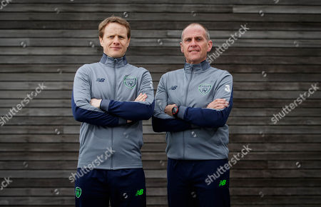 Head Coach Colin O'Brien and assistant coach Ian Hill