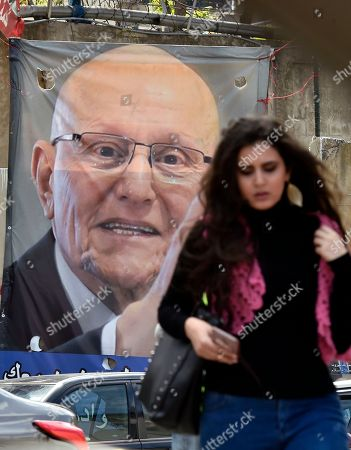 Editorial image of Lebanese parliamentary elections - campaigns, Beirut, Lebanon - 10 Apr 2018