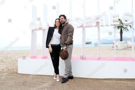 Francesco Montanari and Miriam Dalmazio