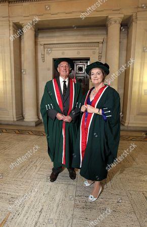 Stock Image of Rachel Lomax and Don Shepherd