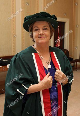 Editorial picture of Honorary Fellowships Ceremony at Swansea Metropolitan University, Bragwyn Hall, Swansea - 09 Jul 2009