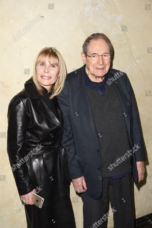 Candice Patou and Robert Hossein