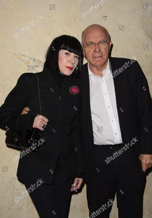 Chantal Thomass and son mari