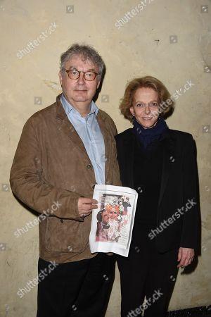 Dominique Besnehard and Frederique Bredin (Presidente du CNC)