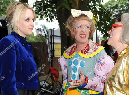 Lauren Laverne, Grayson Perry and wife Philippa Fairclough