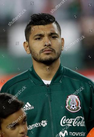 Mexico's Jesus Manuel Corona during an international friendly soccer match against Iceland, in Santa Clara, Calif