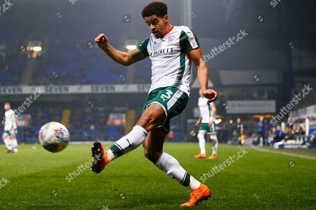 Barnsley defender Zeki Fryers (3) crosses the ball during the EFL Sky Bet Championship match between Ipswich Town and Barnsley at Portman Road, Ipswich. Picture by Phil Chaplin