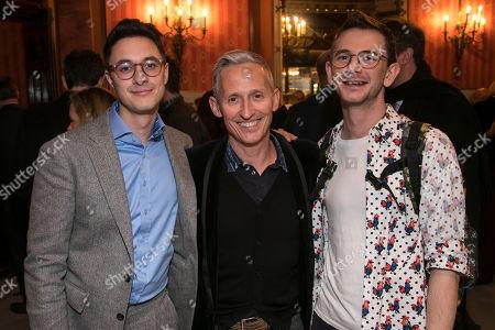Max Narula, George Stiles and Jason Jones