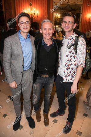 Stock Image of Max Narula, George Stiles and Jason Jones