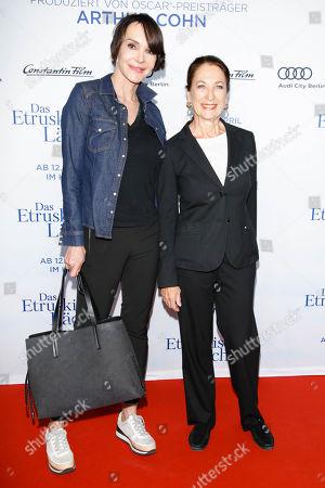 Stock Picture of Anouschka Renzi and Daniela Ziegler